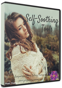 Self Soothing Tools Video Transparent DVD cover copy